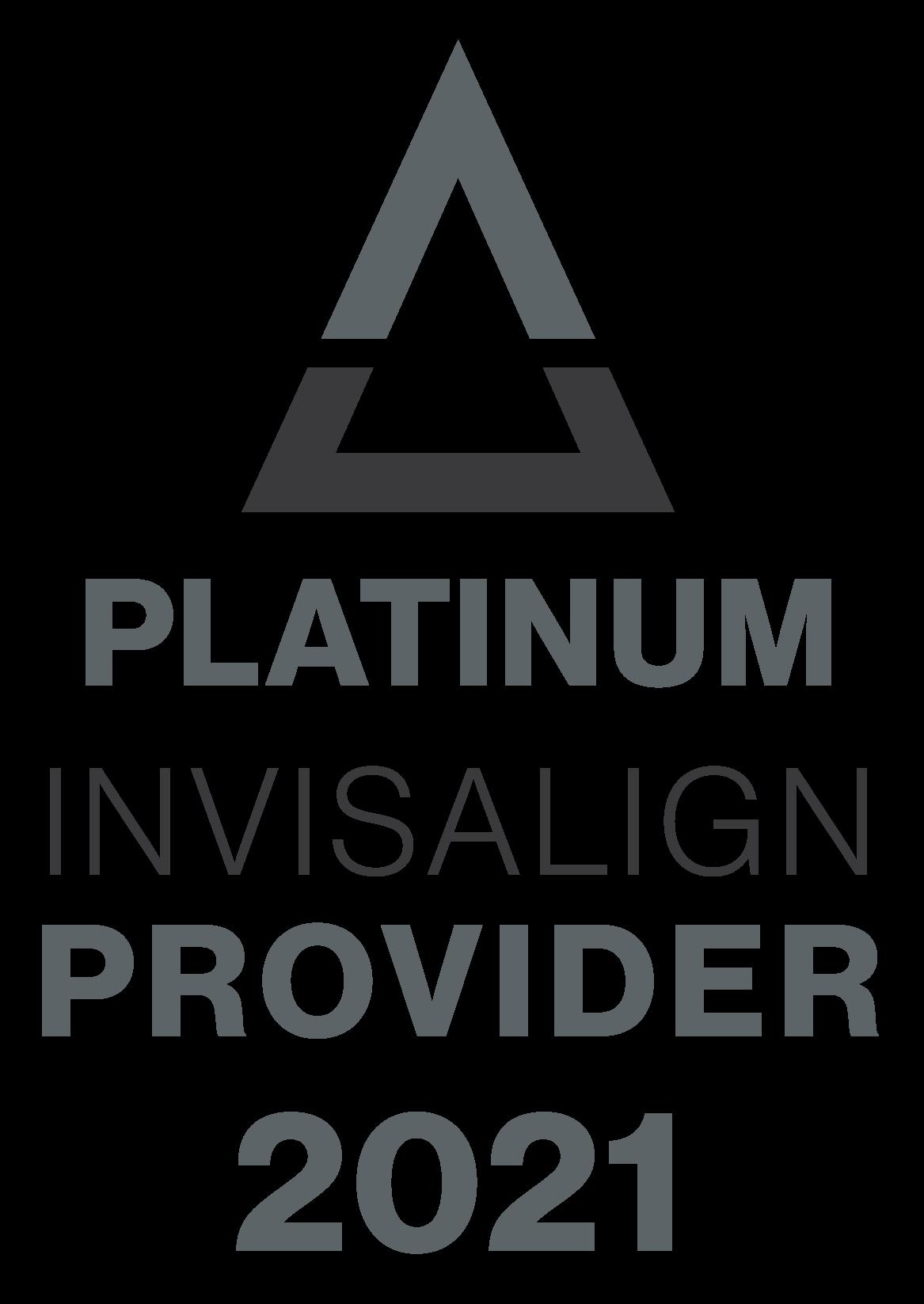 invisalign platinum provider badge