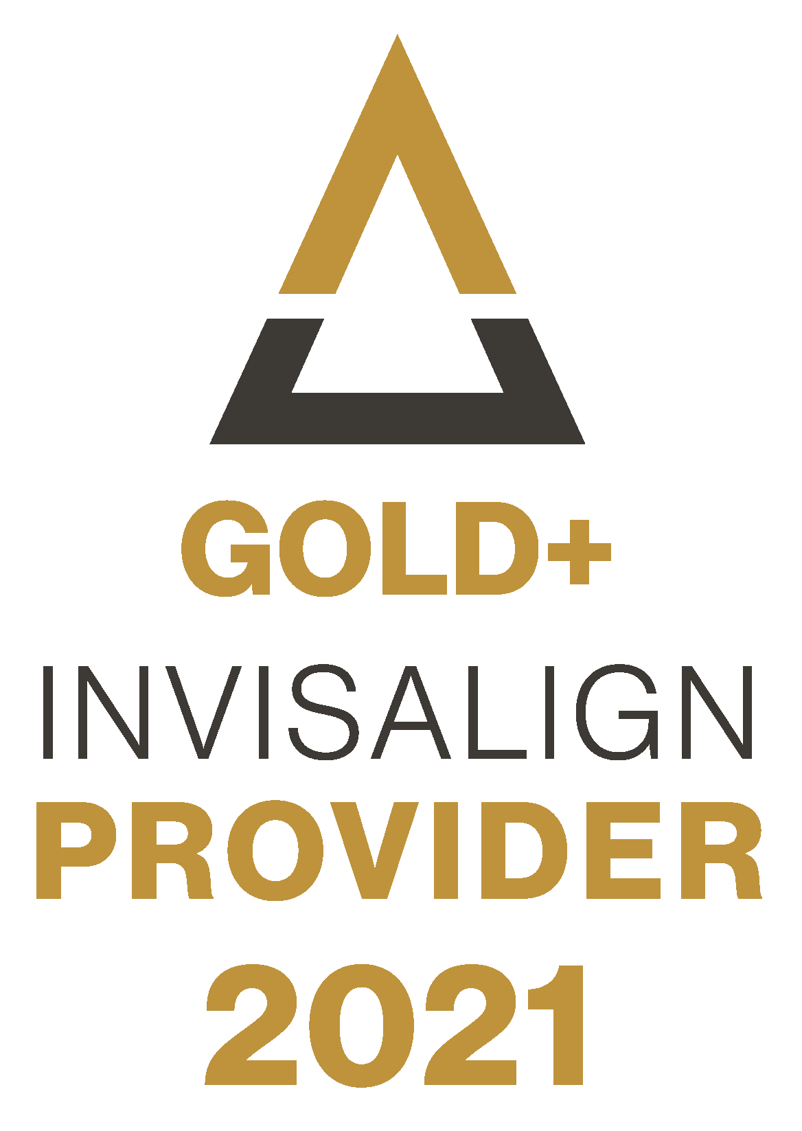 invisalign gold provider badge