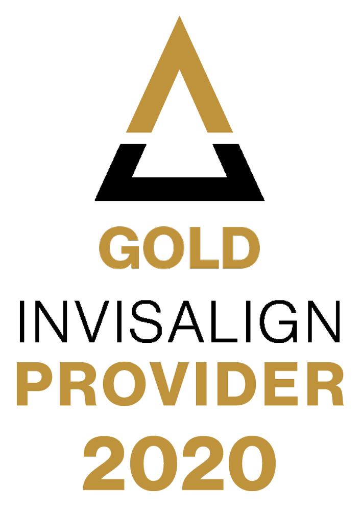 invisalign gold provider badge